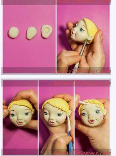 Girl face 8