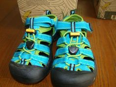 Keen shoes. The best shoes for active toddlers & kids. I even put L's in the wash machine!