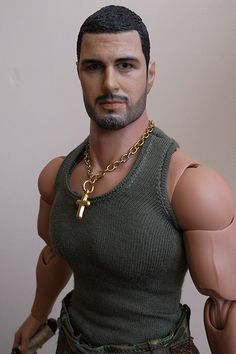 TONY, Military Male Action Doll