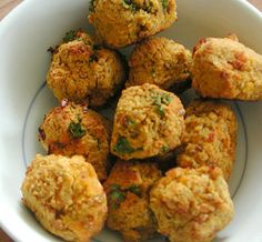 Samosa-like lentil snacks. Vegan, gluten-free, and delicious!
