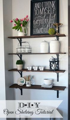 Whether you need something for storage or you want to add a touch of décor to your home, shelves are the perfect solution for your needs. In this post, we have a great collection of some personalized shelving projects for your home that won't break the bank. These creative ideas are all provided with lots …