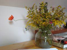 kwiaty zawsze muszą być :)