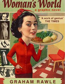 Graham Rawle Woman& World: A Graphic Novel Film Books, Book Authors, Used Books Online, Library Card, Page Turner, Great Books, Book Publishing, Book Lists, Book Design