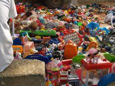 juguetes en África