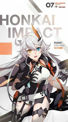 Honkai Impact 3rd Follow me!! for more great images! Girls Anime, Kawaii Anime Girl, Manga Girl, Anime Art Girl, Manga Anime, Character Concept, Character Art, Anime Military, Beautiful Anime Girl