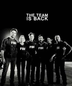 The Team Is Back - Criminal Minds Fan Art (23574568) - Fanpop