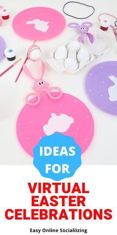 Ideas for Virtual Easter Celebrations with Friends and Family | Fern and Maple