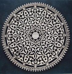 Naht+Sanatı:+Şemse+Motifi Arabic Pattern, Geometry Pattern, Arabesque Pattern, Turkish Art, Blue Pottery, Oriental Pattern, Stencil Painting, Sacred Art, Calligraphy Art