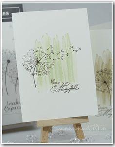 #stampinup #trauer #trauerkarte #dandelionwishes