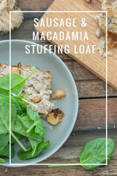 This weeks new recipes on www.thestonesoup.com  is a  Sausage & Macadamia Stuffing Loaf. Gluten Free Recipes, Low Carb Recipes, New Recipes, Snack Recipes, Healthy Recipes, Fast Low Carb, Tasty, Yummy Food, Easy Food To Make