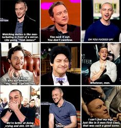 Interviewing James McAvoy--an experience in innuendos Embedded image permalink