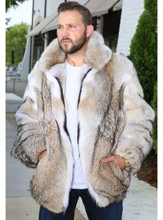 Custom Order Coyote Fur Jacket with Hood