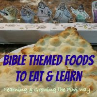 Learning and Growing the Piwi way: Cooking Bible themed foods & Easter Movies yummi fooddrink, theme food