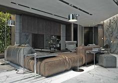 Dans cet article nous vous présentons quatre appartements modernes avec déco design style masculine. Regardez les photos, elles sont très intéressantes: