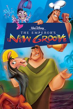 30 Day Disney Challenge, Day 23 - Movie That Makes Me Laugh: The Emperor's New Groove (tied with Toy Story and Hercules)