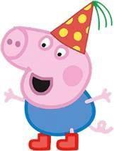 Uau! Veja o que temos para Convite George Pig Pop Up DIY 6