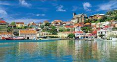 Grenada, Caribbean Spice Island, Nutmeg is the dominant spice crop