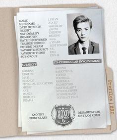 #kpop #exo #exom #weareone #Luhan #lulu #xiaolu #xiluhan #dearmydeer #deerlulu #profile