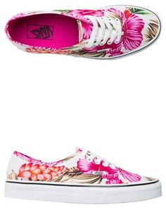 Vans Hawaiian floral sneakers. get them before Aloha Friday! http://www.swell.com/Vans-Footwear/VANS-HAWAIIAN-FLORAL-AUTHENTIC-SHOE?cs=MU