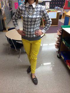 Cute teacher outfit