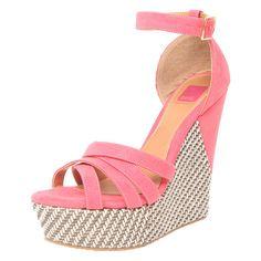 sandalias plataforma rosas primavera verano 2014