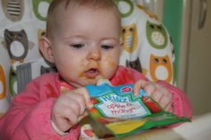'Sophia months) really enjoyed every flavour, in particular apple and strawberry! She thought the pouches we great fun to hold herself'. Pouches, 6 Months, Mango, Strawberry, Apple, Fun, Manga, Apple Fruit, 6 Mo