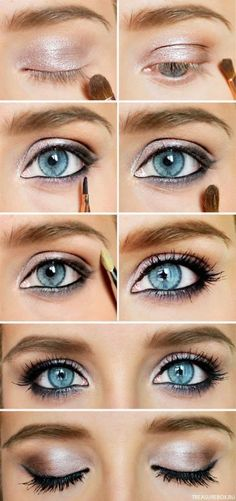 Beautiful Glitter Smoky Eye Makeup Tutorial