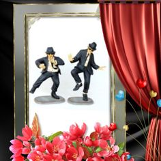 These dancing brothers and just one of a kind with delicate detailing leaving nothing undone. The dancing brothers decor are sure to bring some much fun, light and conversation into your home or office. These dancing brothers are great for gift giving, event and party planning, museums, and for collectors, to just name a few. These cute dancing brothers are approximately 36 inches tall, 28 inches long, 31 inches wide and weighs about 47 pounds. These are a popular item, get yours today.
