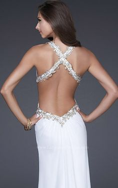 love this backless wedding dress! ...now i have to start working out....
