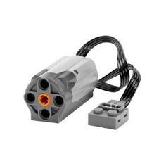 Powerful action for your LEGO Power Functions! Add an extra M-Motor to your LEGO creations! This medium power motor will give movement to your models, whether it's spinning a wheel or turning a system of gears. Lego Jurassic World, House Md, Davy Jones, Lego Technic, Nintendo 3ds, Technique Lego, Lego System, Lego Store, Black Friday Specials