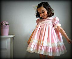 Toddler/Girl.1T2T3T4Y5Y6Y.BatisteValencienne por Moniquesthingsshop