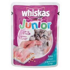Whiskas Junior  Kitten Tuna for 01 year Net Weight 85g Pack of 3 *** See this great product. (This is an affiliate link) #CatTreats