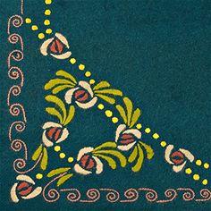 Ryijy. Traditional Finnish designs and crafts. Keski-Suomen museo - Päivä  Eilisessä - Naisten käsityöt kunniaan 0e75782a8f