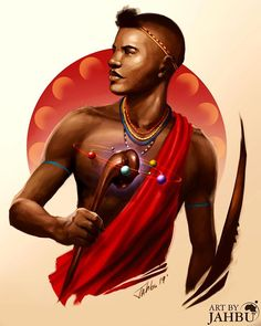 "jahbu-art: ""Humble your strength to find your true power. Believe in yourself and your people! African Love, African Men, Together We Stand, Speed Art, King Fashion, Powerful Art, Warrior Queen, Stand Strong, African Artists"