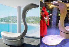 Juma Exclusive presents Jumamba, snake-shaped bathtub shower combo - HomeCrux Bathtub Shower Combo, Bathtubs, Bathroom Accessories, Faucet, Snake, Bathrooms, Presents, Modern, Design