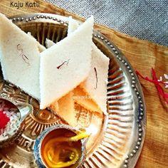 ... Cashew thins Recipe for Indian sweets Kaju Katli for diwali diwali