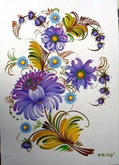 Одноклассники Polish Folk Art, Islamic Art Calligraphy, Caravans, Folklore, Ukraine, Cool Art, Decoupage, Russian Painting, Paintings Of Flowers