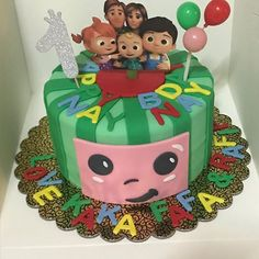 Images about #cocomeloncake on Instagram 1st Birthday Party Themes, 2nd Birthday, Birthday Ideas, Melon Cake, Cake Designs, Cakes, Tv, Desserts, Instagram