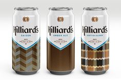 Hilliard's: A Retro-Cool Beer Brand That Embraces Good Graphic Design