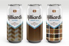 Hilliard's beer. By branding agency Mint.