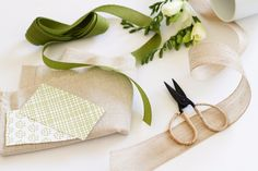beautiful styling - love the olive green color palette