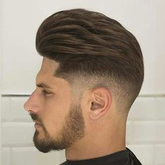 by fashionpridebr Latest Men Hairstyles, Cool Mens Haircuts, Stylish Haircuts, Cool Hairstyles, Men's Haircuts, Hairstyle Men, Hair And Beard Styles, Long Hair Styles, Mens Hair Colour