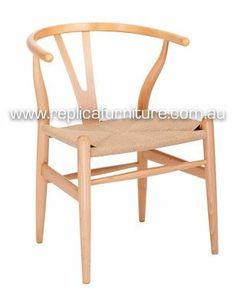 Inspired by traditional Ming chairs, Hans Wegner designed his Y Chair or Wishbone Chair in 1950 and is a classic piece of Danish mid-century furniture design. Buy the Reproduction Wishbone Chair online for delivery to Brisbane, Sydney, Melbourne, ACT. Metal Dining Room Chairs, Plastic Dining Chairs, Wayfair Living Room Chairs, Bentwood Chairs, Mid Century Dining Chairs, Cafe Chairs, Indoor Hammock Chair, Chairs For Rent, Buy Chair