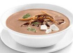 Sopas y Cremas - La Cocina de Bea Chipotle, Chicharrones, Frijoles, Thai Red Curry, Panna Cotta, Pudding, Eat, Tableware, Ethnic Recipes