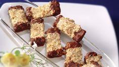 Rýchle..Orechové Krispie Treats, Rice Krispies, Desserts, Food, Tailgate Desserts, Deserts, Meals, Rice Krispie Treats, Dessert