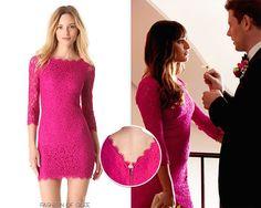 Diane Von Furstenberg DVF Celebrity Zarita Lace Dress Gardenia