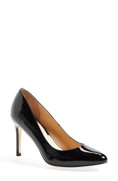 """Pin for Later: The Duchess of Cambridge's Stylish, Sophisticated Dress Says, """"I'm Back, Baby""""  Cole Haan Bethany Leather Pump (£109)"""