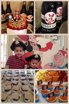 Tyler's 5th birthday party - Captain Hook / Pirates