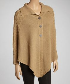Take a look at this Oatmeal Handkerchief Cardigan by jon & anna on #zulily today! $24 !!