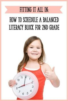 Rethinking your second grade literacy block? This post has tons of different ideas and sample schedules for 2nd grade!